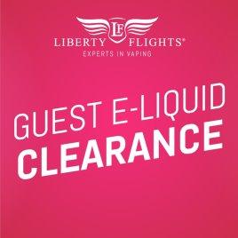 Clearance Guest E Liquids
