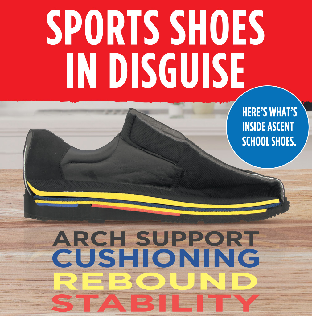 Sports Shoes in Disguise