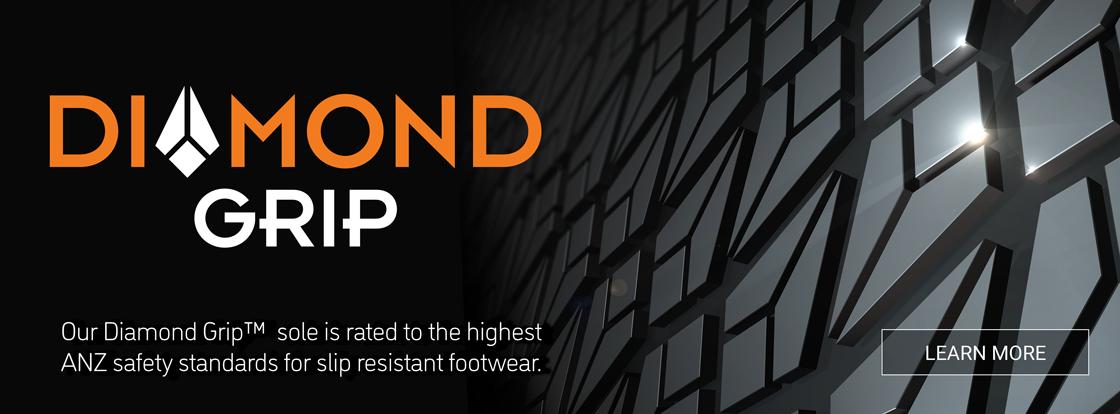 Ascent Footwear Slip Resistant Diamond Grip