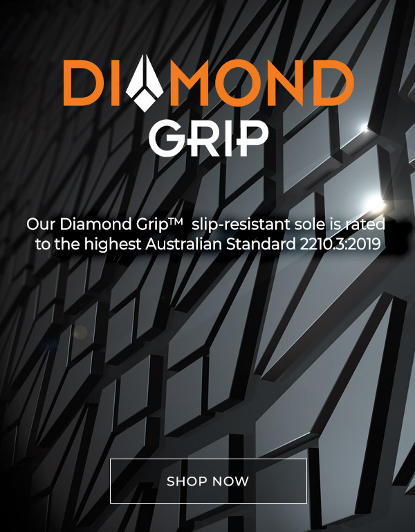 Diamond Grip Slip Resistant Footwear