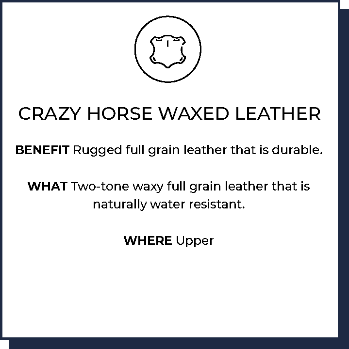 Crazy Horse Waxed Leather