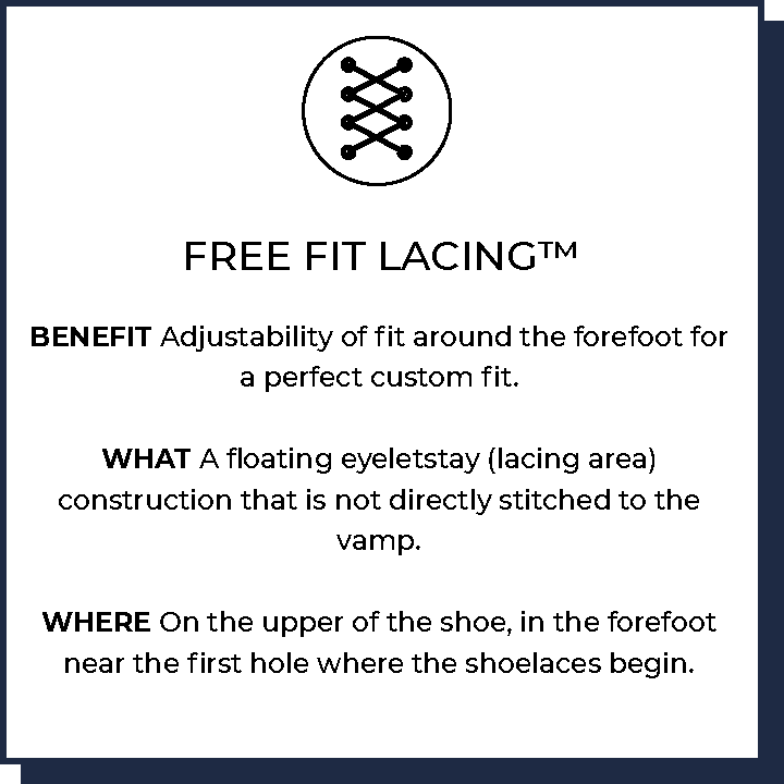 Free Fit Lacing™