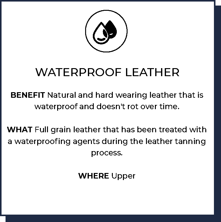 Waterproof Leather