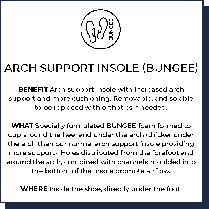 Arch Support Insole (BUNGEE)