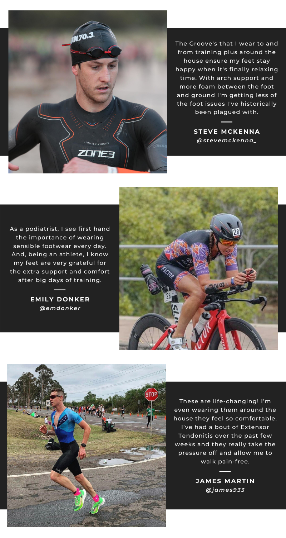 triathlete testimonials