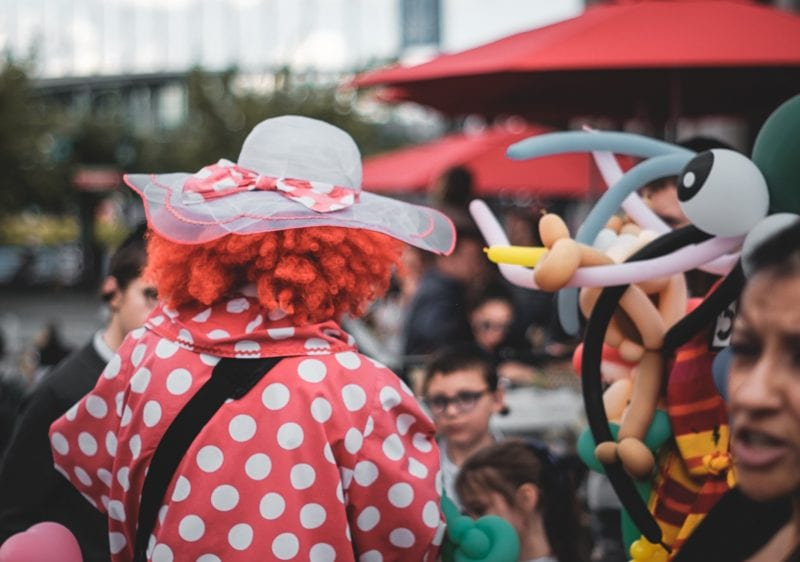 clown buchen Frankfurt