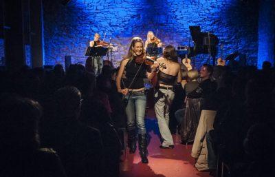 Geigerinnen buchen Streichquartett Künstlervermittlung formwandler events - künstler buchen Frankfurt