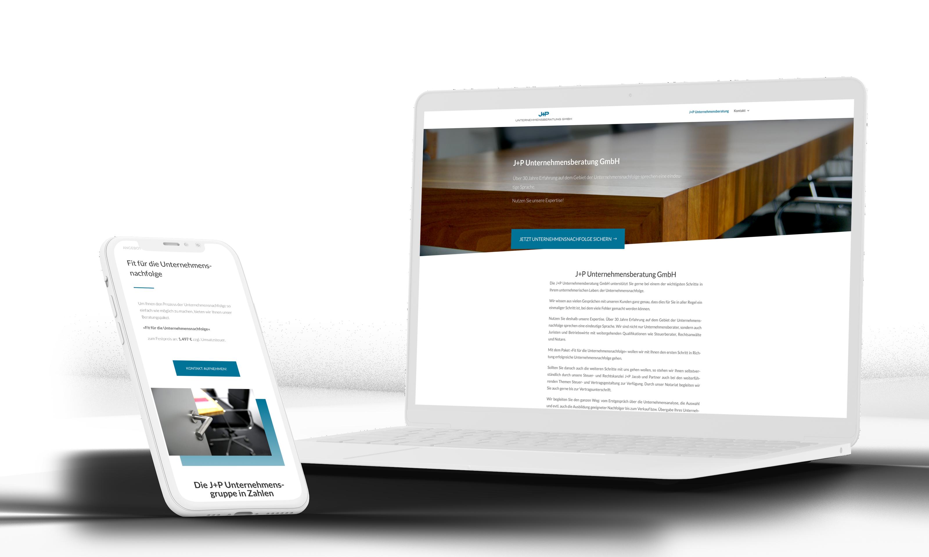 Beratungsunternehmen Website Web-Gestaltung