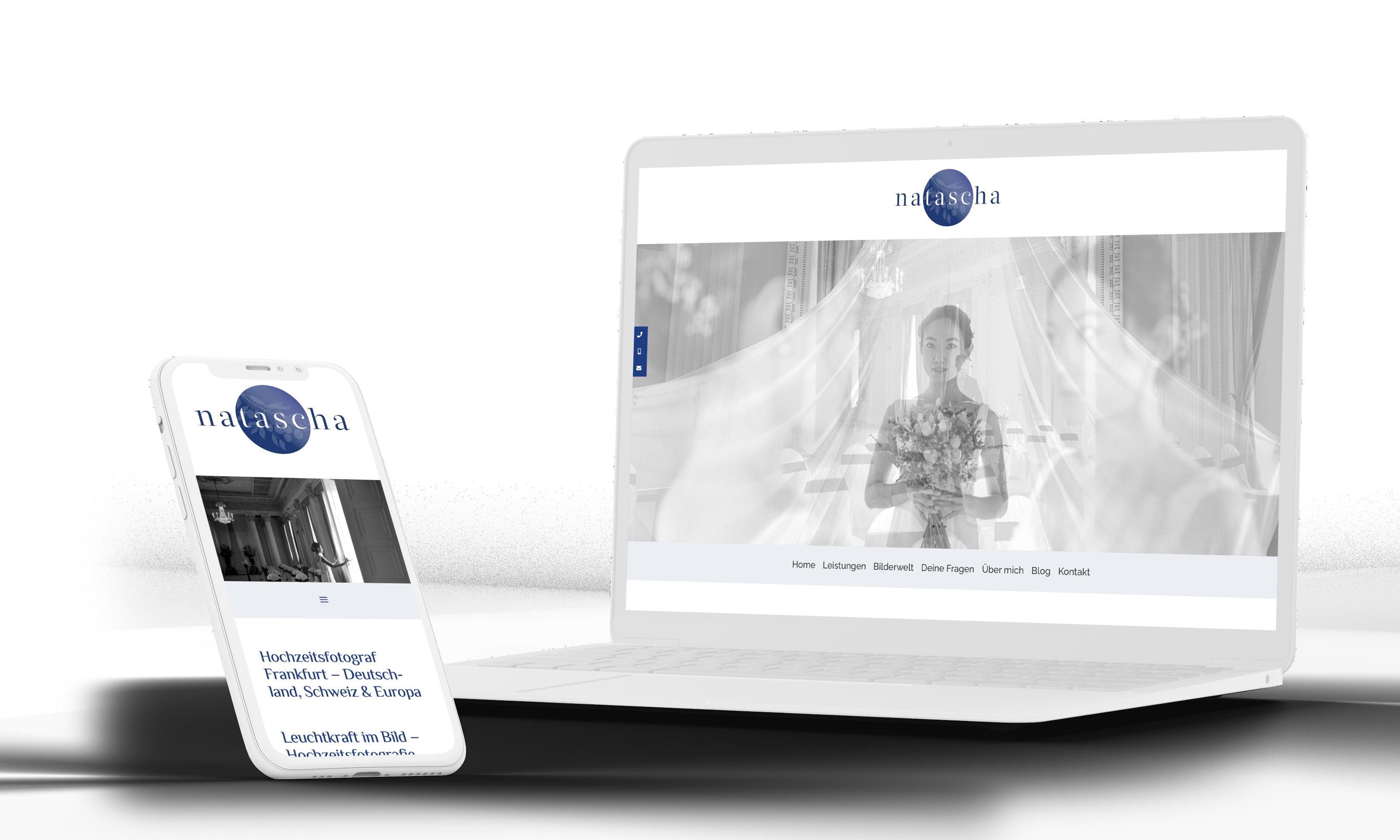 Homepage erstellung Hochzeitsfotografie