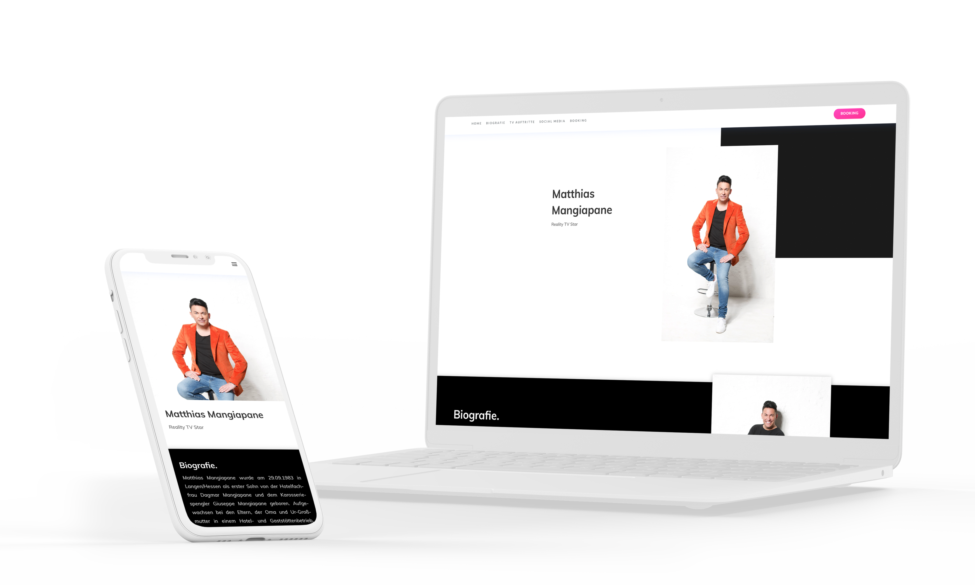 Matthias Mangiapane Website