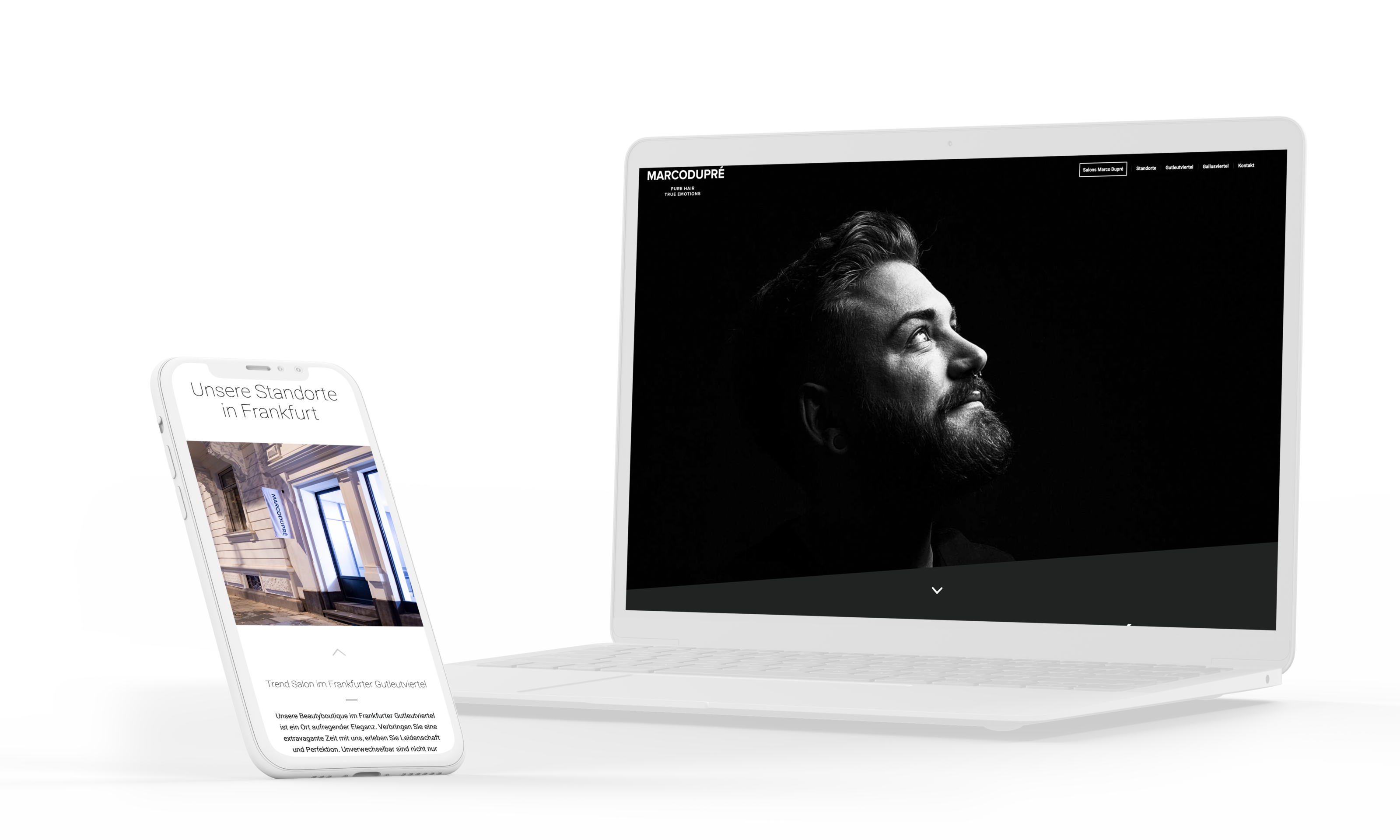 Webdesign Friseur Salon