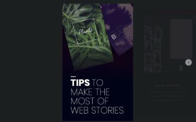Google Web Stories (AMP): Wie Stories für mehr Traffic sorgen.