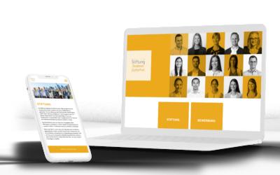 Webdesign Stiftung Goldener Zuckerhut
