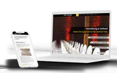 Webdesign Eventdienstleister