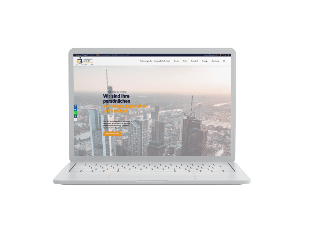 Wordpress Webdesign Anbieter in Frankfurt am Main