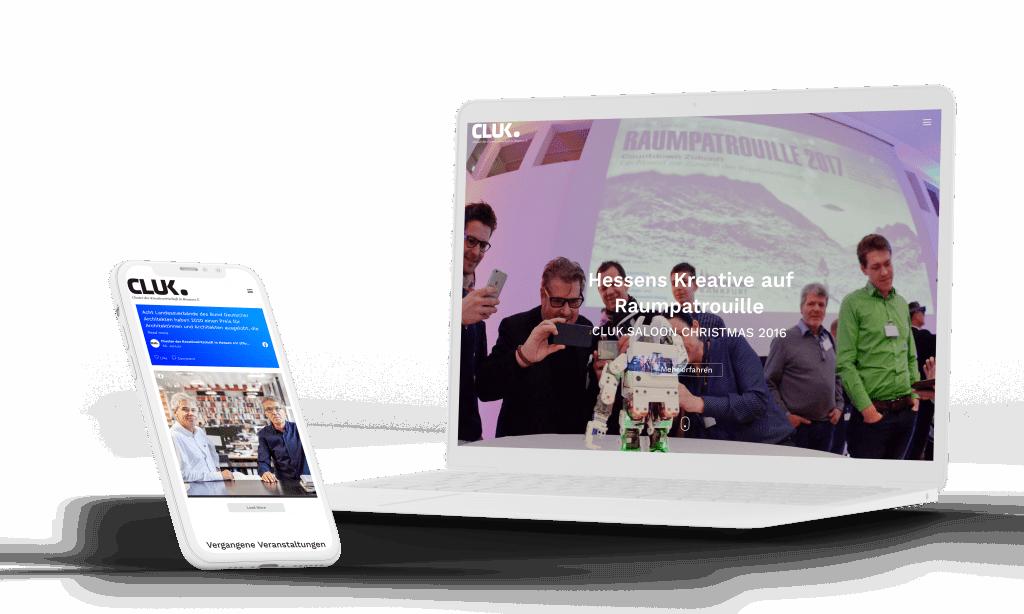 Entwicklung Eventhomepage System für Livestream Business Events