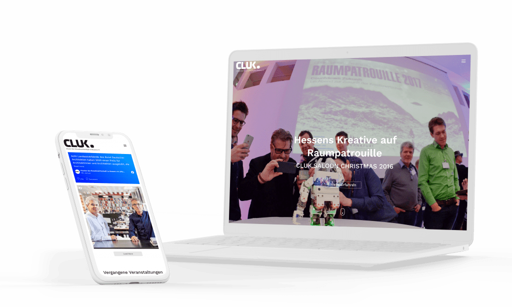 Entwicklung Eventhomepage System für Online Hauptversammlung