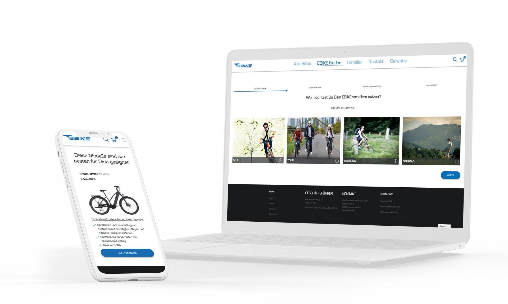 Webdesign GIZ HKP Afrika