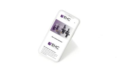 Website Entwicklung Industrie