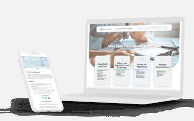 WordPress Website Medizin Unternehmen