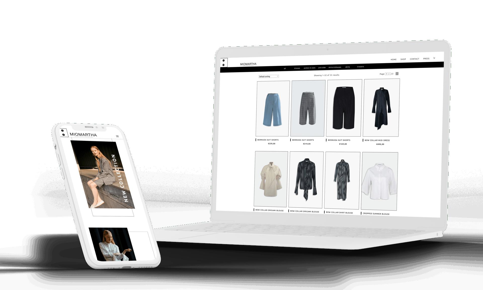 Fashion Onlineshop Webdesign Onlineshop Woocommerce Agentur Frankfurt