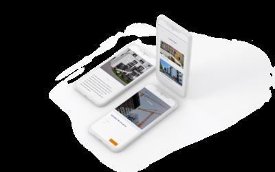 Webdesign Wohnbaufirma
