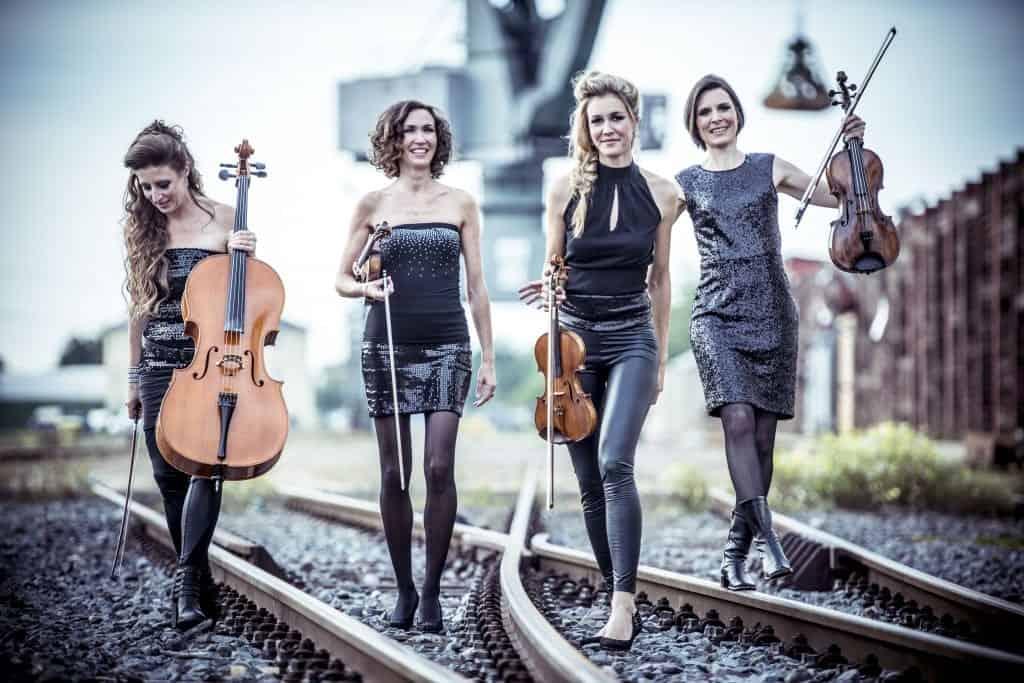 Streichquartett Violine Geige Frankfurt Künstler formwandler events