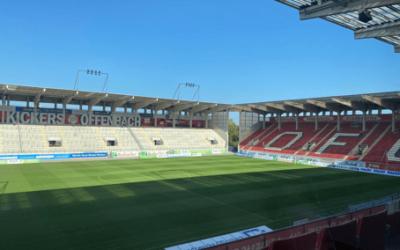 Live-Stream im Fußballstadion