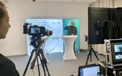 Live Stream und Eventhomepage Entwicklung