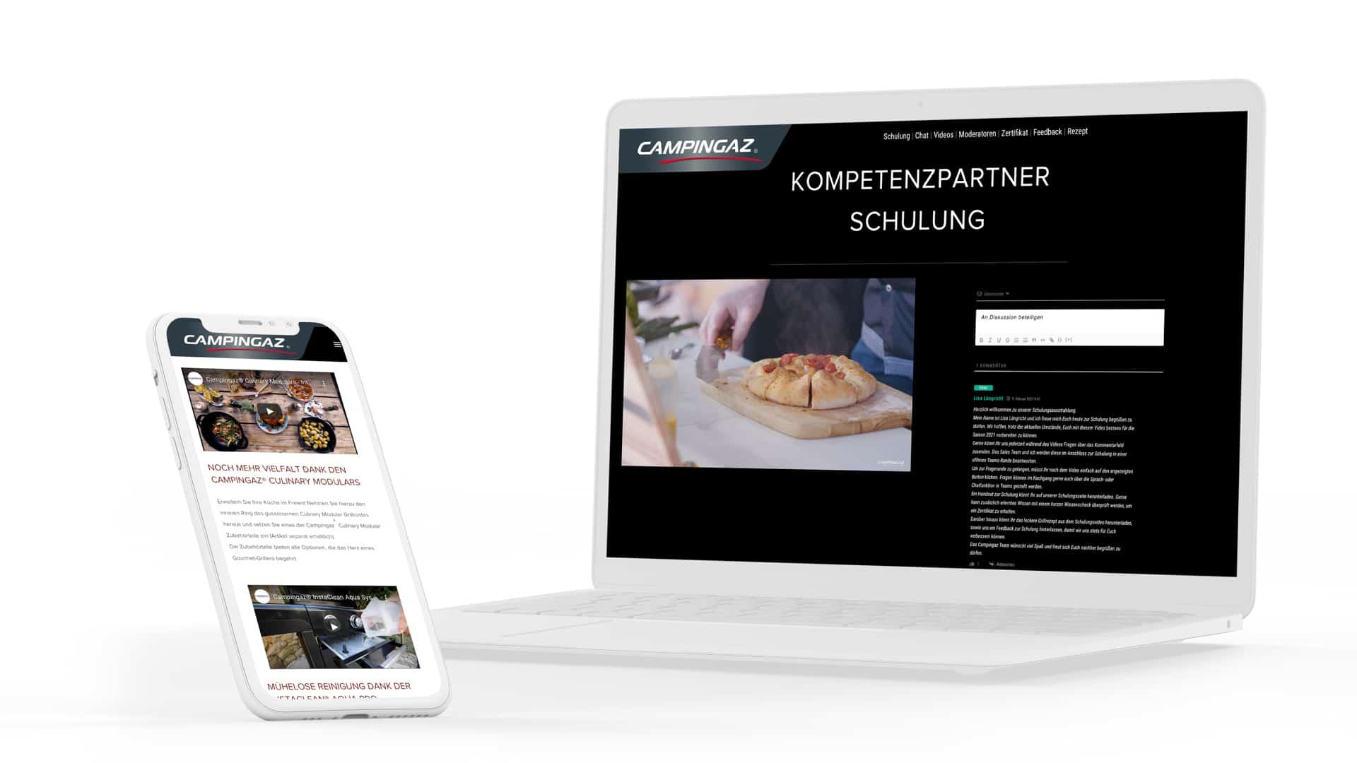 Videoproduktion und Eventhomepage Entwicklung Agentur in Frankfurt