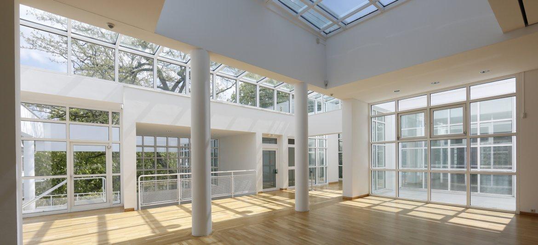 Helle Museum Eventlocation mieten in Frankfurt Museum für angewandte Kunst