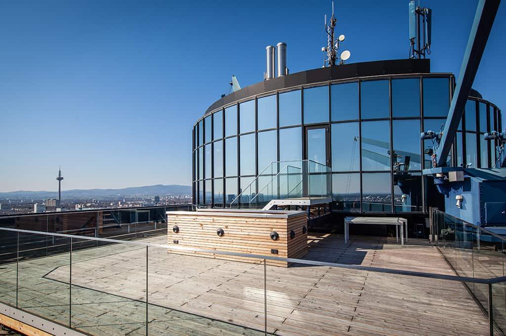 events auf den Dächern Frankfurts