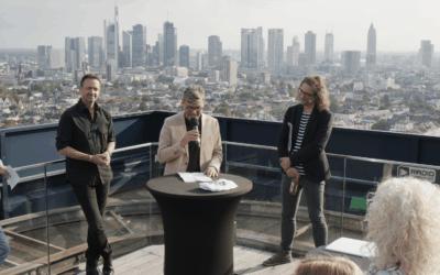 CLUK Hybrid Event über den Dächern Frankfurts