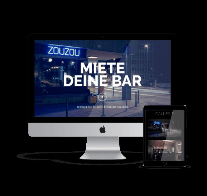 zouzou bar online marketing konzept frankfurt by formwandler interactive