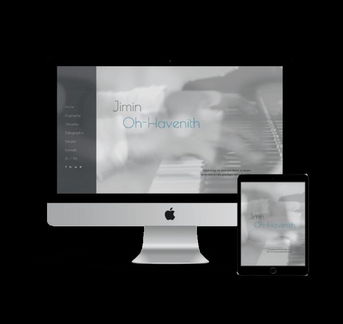webdesign künstlerin jimin oh havenith