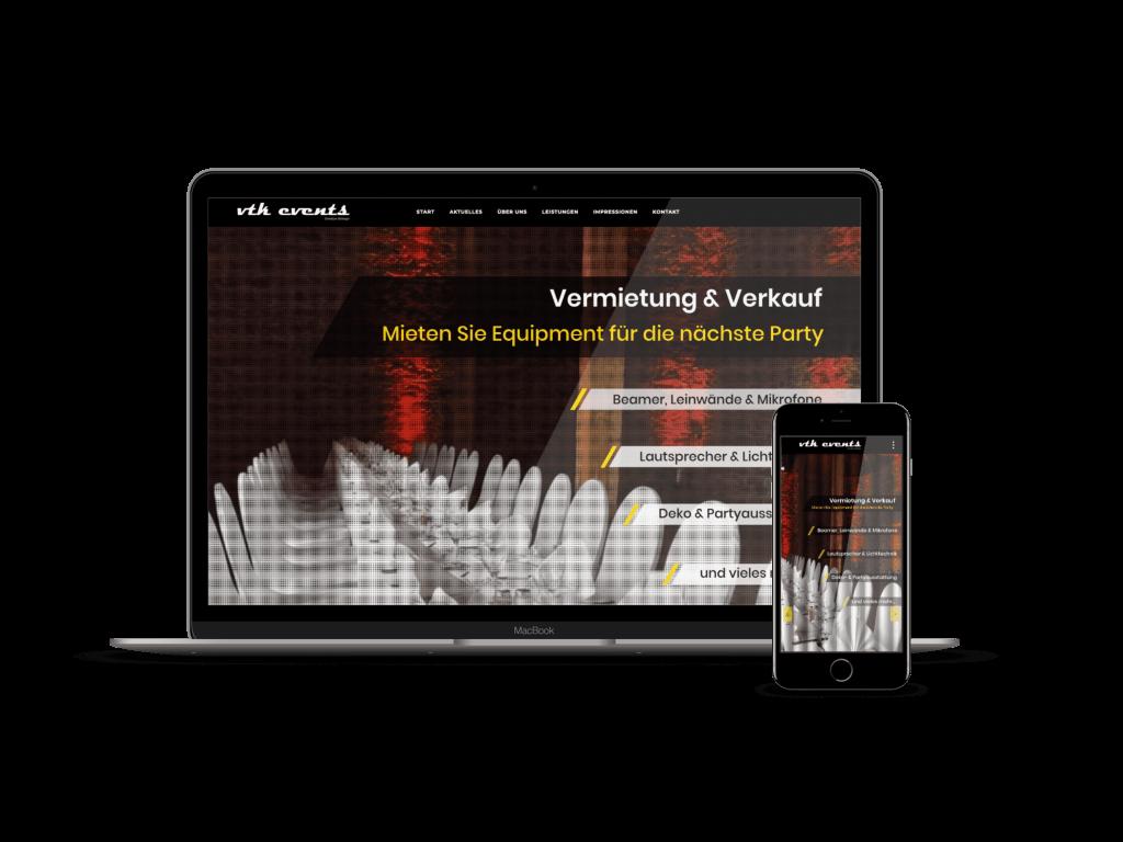 webdesign veranstaltungstechniker frankfurt entwicklung formwandler