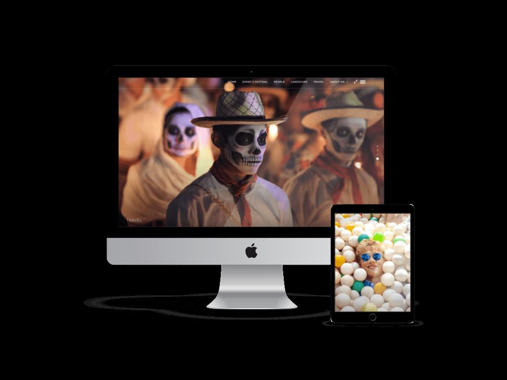 webdesign agentur frankfurt fotograph website