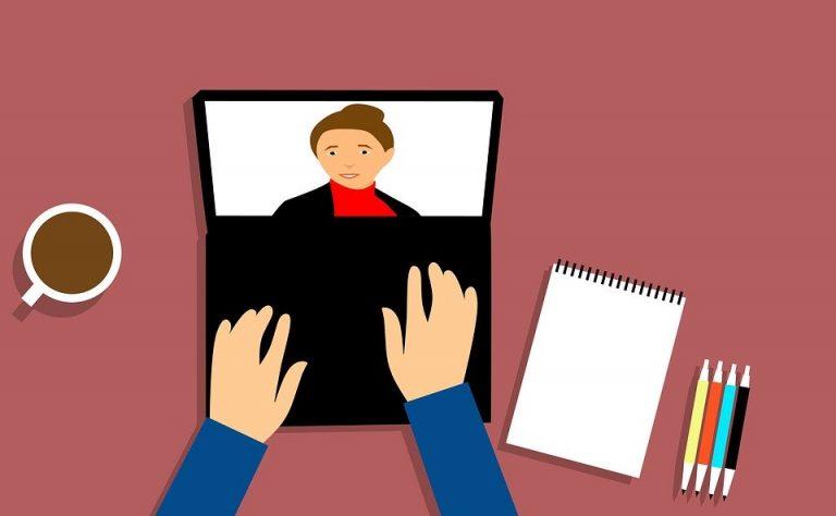 webinar-hintergund hintergund für professionelles webinar arbeitszimmer homeoffice home office einrichtung einrichten webianr von zuhause