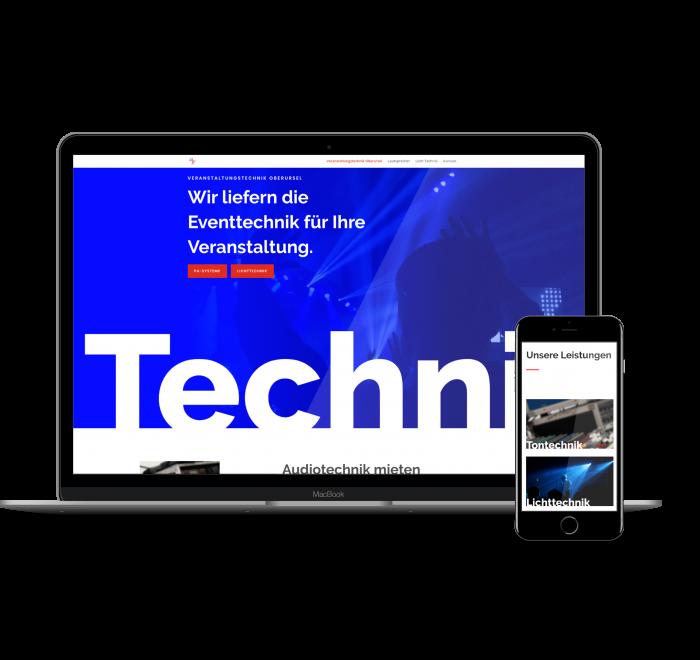 landingpage entwicklung Frankfurt webdesign - technikdienstleister