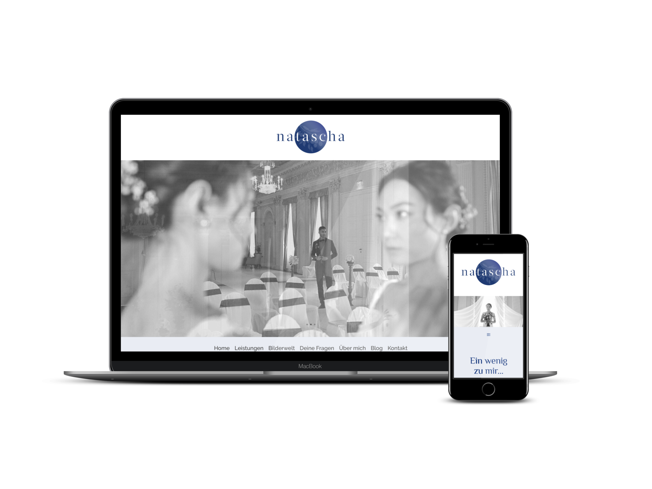 Webdesign für Hochzeitsfotografin aus Frankfurt SEO SEA und Advertising Website