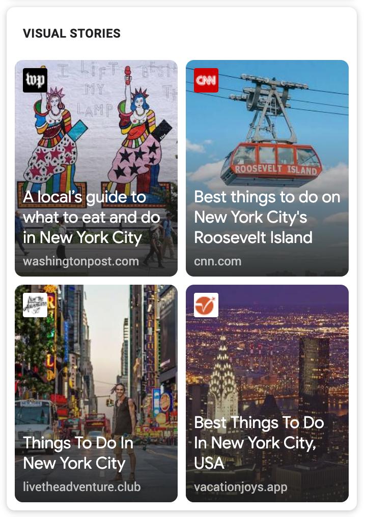 Google Web Stories (AMP): Wie Stories für mehr Traffic sorgen. 2