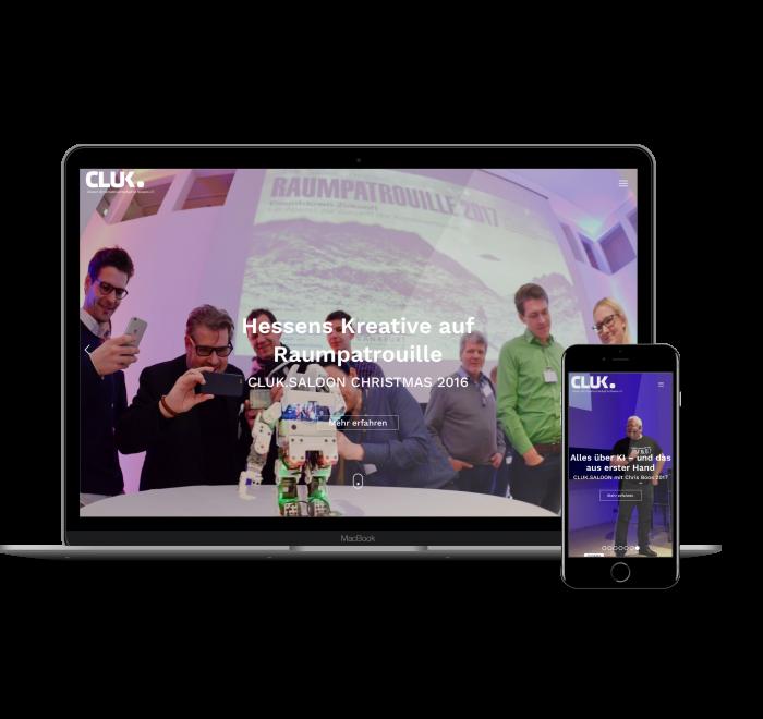 Webdesign Kreative CLUK Frankfurt