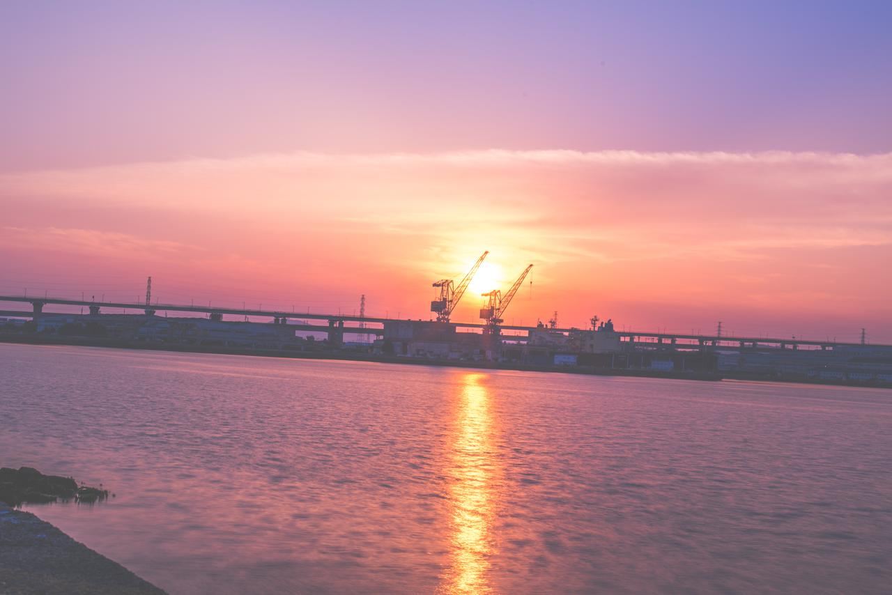 香川県 坂出港