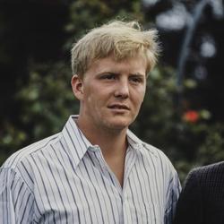 Willem-Alexander 23 jaar
