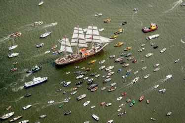 SAIL-In Parade in Amsterdam
