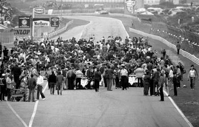 De startopstelling van de Formule 1
