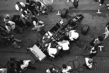 De bolide van Niki Lauda