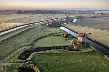 Windmolen in Schermerhorn
