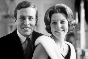 Prinses Beatrix en prins Claus