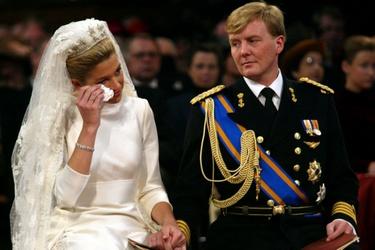 Huwelijk koning Willem-Alexander en koningin Máxima
